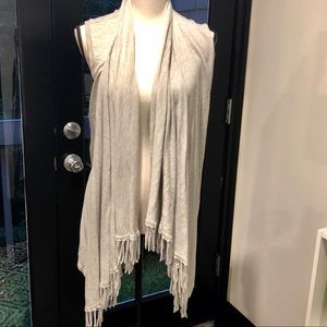 Central Park West sleeveless cardigan